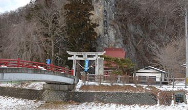 厳龍神社の風景写真